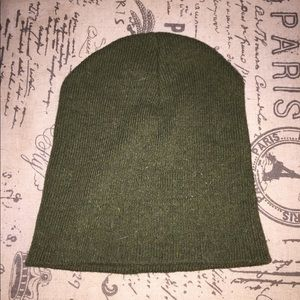 Other - Olive Green Beanie Hat